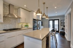 Etobicoke Custom Home Kitchen, painted by Weston Pro Painting